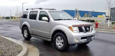 2007 Nissan Pathfinder for sale at FRESH TREAD AUTO LLC in Springville UT