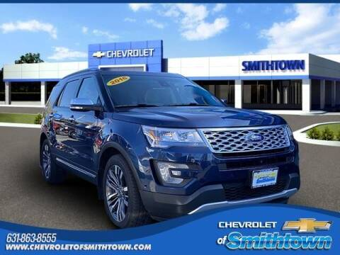 2016 Ford Explorer for sale at CHEVROLET OF SMITHTOWN in Saint James NY