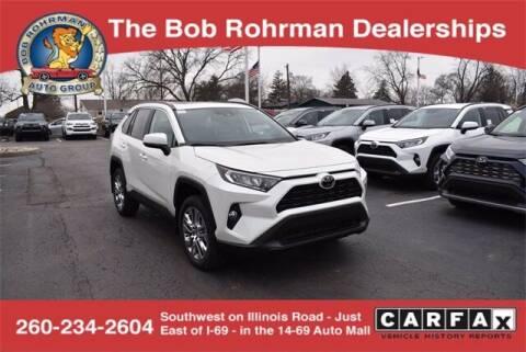 2021 Toyota RAV4 for sale at BOB ROHRMAN FORT WAYNE TOYOTA in Fort Wayne IN