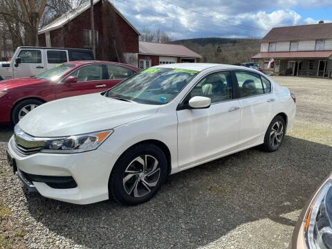 2017 Honda Accord for sale at Brush & Palette Auto in Candor NY