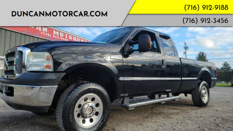 2007 Ford F-250 Super Duty for sale at DuncanMotorcar.com in Buffalo NY