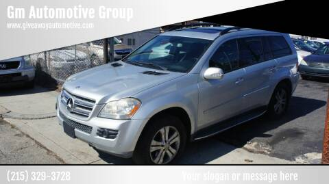 2008 Mercedes-Benz GL-Class for sale at GM Automotive Group in Philadelphia PA