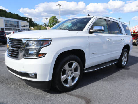 2015 Chevrolet Tahoe for sale at RUSTY WALLACE KIA OF KNOXVILLE in Knoxville TN