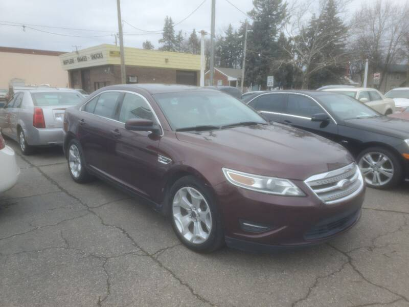 2010 Ford Taurus for sale at J & J Used Cars inc in Wayne MI