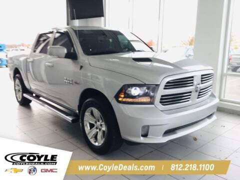 2016 RAM Ram Pickup 1500 for sale at COYLE GM - COYLE NISSAN - New Inventory in Clarksville IN