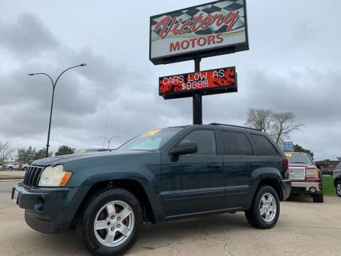 2005 Jeep Grand Cherokee for sale at Victory Motors in Waterloo IA