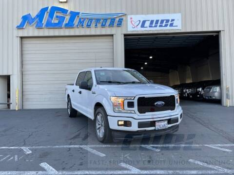 2018 Ford F-150 for sale at MGI Motors in Sacramento CA