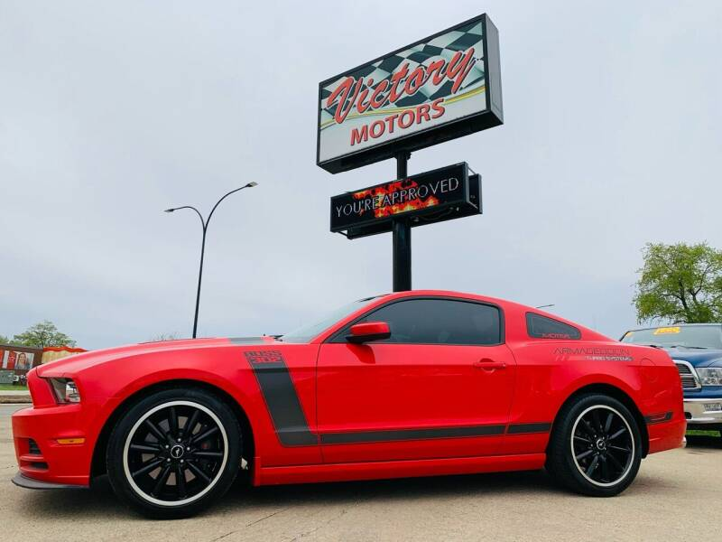 2013 Ford Mustang for sale at Victory Motors in Waterloo IA