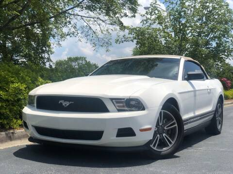 2011 Ford Mustang for sale at William D Auto Sales in Norcross GA
