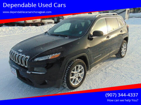 2017 Jeep Cherokee for sale at Dependable Used Cars in Anchorage AK