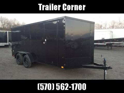 2021 Look Trailers STLC 7X16 - BLACKED OUT - RAMP