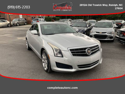 2013 Cadillac ATS for sale at Complete Auto Center , Inc in Raleigh NC