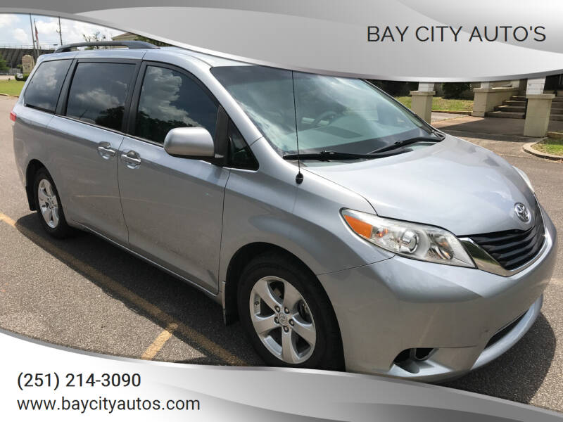 2013 Toyota Sienna for sale at Bay City Auto's in Mobile AL