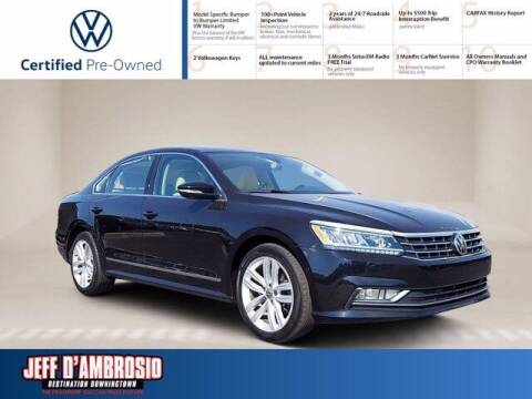 2018 Volkswagen Passat for sale at Jeff D'Ambrosio Auto Group in Downingtown PA