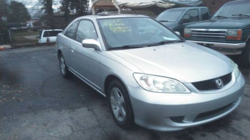 2005 Honda Civic for sale at IMPORT MOTORSPORTS in Hickory NC
