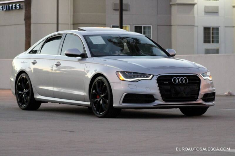 2013 Audi A6 for sale at Euro Auto Sales in Santa Clara CA