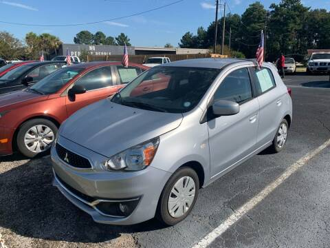 2018 Mitsubishi Mirage for sale at Sun Coast City Auto Sales in Mobile AL