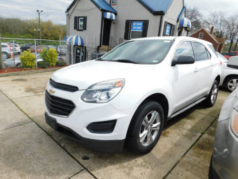 2016 Chevrolet Equinox for sale at WOOD MOTOR COMPANY in Madison TN