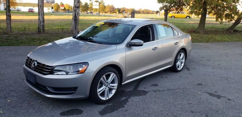2014 Volkswagen Passat for sale at Elite Auto Sales in Herrin IL