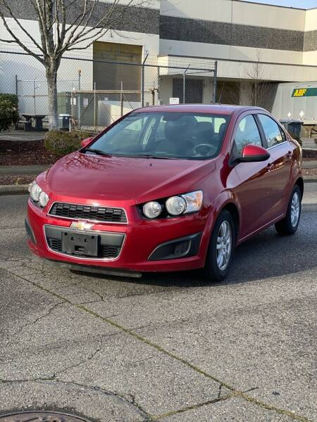 2012 Chevrolet Sonic for sale at Washington Auto Sales in Tacoma WA