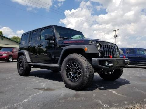2016 Jeep Wrangler Unlimited for sale at Ridgeway's Auto Sales in West Frankfort IL