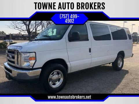 2013 Ford E-Series Wagon for sale at TOWNE AUTO BROKERS in Virginia Beach VA