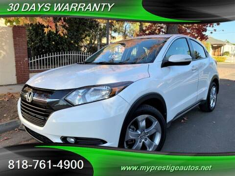 2016 Honda HR-V for sale at Prestige Auto Sports Inc in North Hollywood CA
