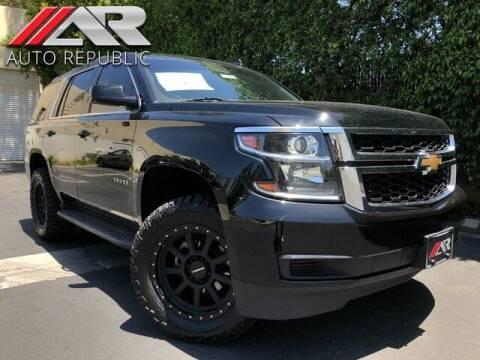 2018 Chevrolet Tahoe for sale at Auto Republic Fullerton in Fullerton CA