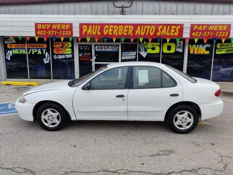 2004 Chevrolet Cavalier for sale at Paul Gerber Auto Sales in Omaha NE