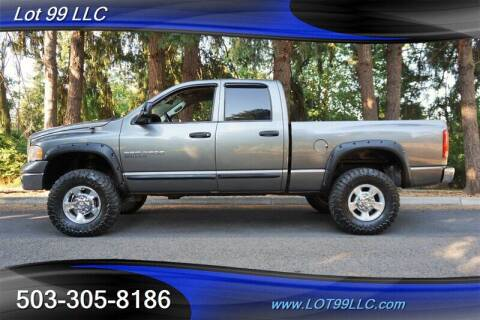 2005 Dodge Ram Pickup 2500 for sale at LOT 99 LLC in Milwaukie OR
