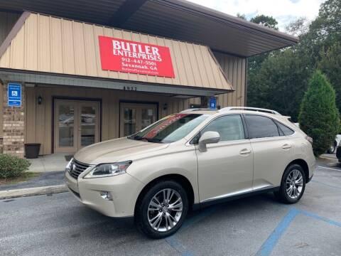 2013 Lexus RX 350 for sale at Butler Enterprises in Savannah GA