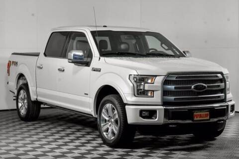 2016 Ford F-150 for sale at Washington Auto Credit in Puyallup WA
