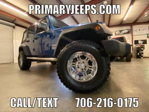 2010 Jeep Wrangler Unlimited for sale at Primary Auto Group Jeeps Hummers Tacomas in Dawsonville GA