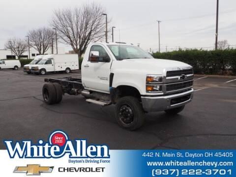 2021 Chevrolet Silverado 4500HD for sale at WHITE-ALLEN CHEVROLET in Dayton OH