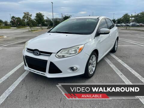 2012 Ford Focus for sale at Alma Car Sales in Miami FL