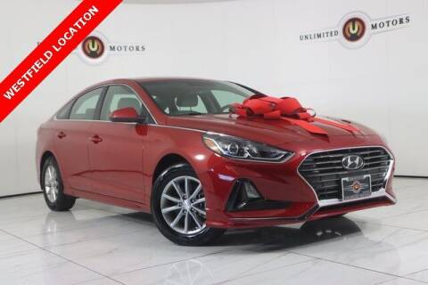 2019 Hyundai Sonata for sale at INDY'S UNLIMITED MOTORS - UNLIMITED MOTORS in Westfield IN