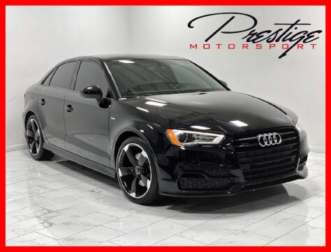 2016 Audi A3 for sale at Prestige Motorsport in Rancho Cordova CA