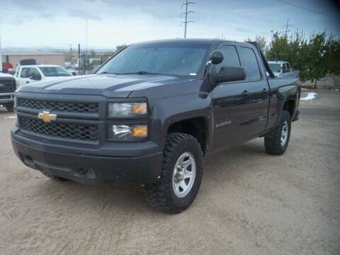 2015 Chevrolet Silverado 1500 for sale at Samcar Inc. in Albuquerque NM