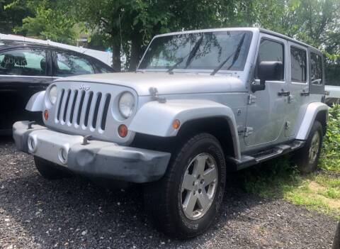 2009 Jeep Wrangler Unlimited for sale at Top Line Import in Haverhill MA
