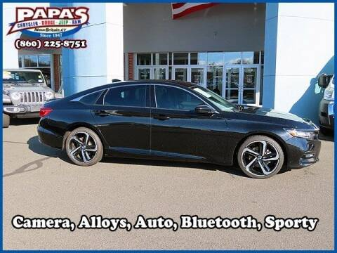 2018 Honda Accord for sale at Papas Chrysler Dodge Jeep Ram in New Britain CT
