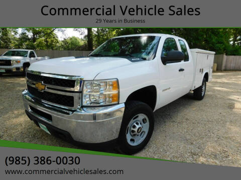 2012 Chevrolet Silverado 2500HD for sale at Commercial Vehicle Sales in Ponchatoula LA