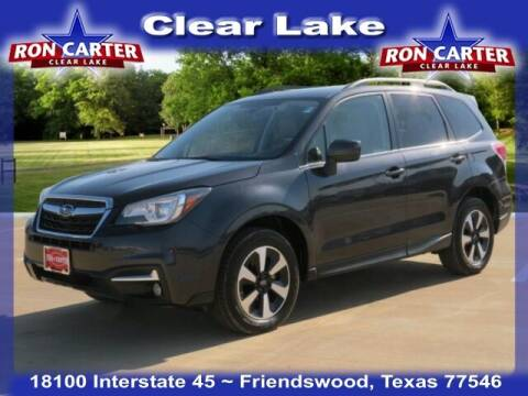 2017 Subaru Forester for sale at Ron Carter  Clear Lake Used Cars in Houston TX