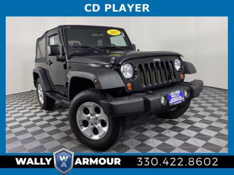 2012 Jeep Wrangler for sale at Wally Armour Chrysler Dodge Jeep Ram in Alliance OH