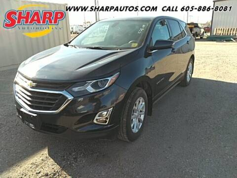2018 Chevrolet Equinox for sale at Sharp Automotive in Watertown SD
