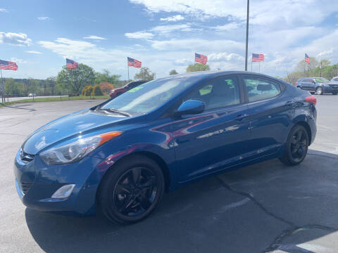 2013 Hyundai Elantra for sale at Doug White's Auto Wholesale Mart in Newton NC