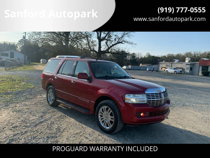 2007 Lincoln Navigator for sale at Sanford Autopark in Sanford NC