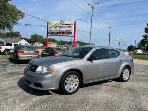 2014 Dodge Avenger for sale at DiGiovanni's Xtreme Auto & Cycle Sales in Machesney Park IL