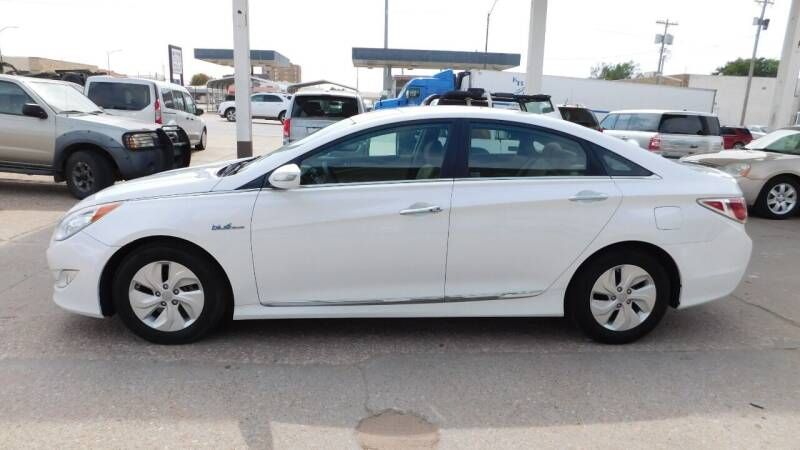 2015 Hyundai Sonata Hybrid for sale at Mid Kansas Auto Sales in Pratt KS