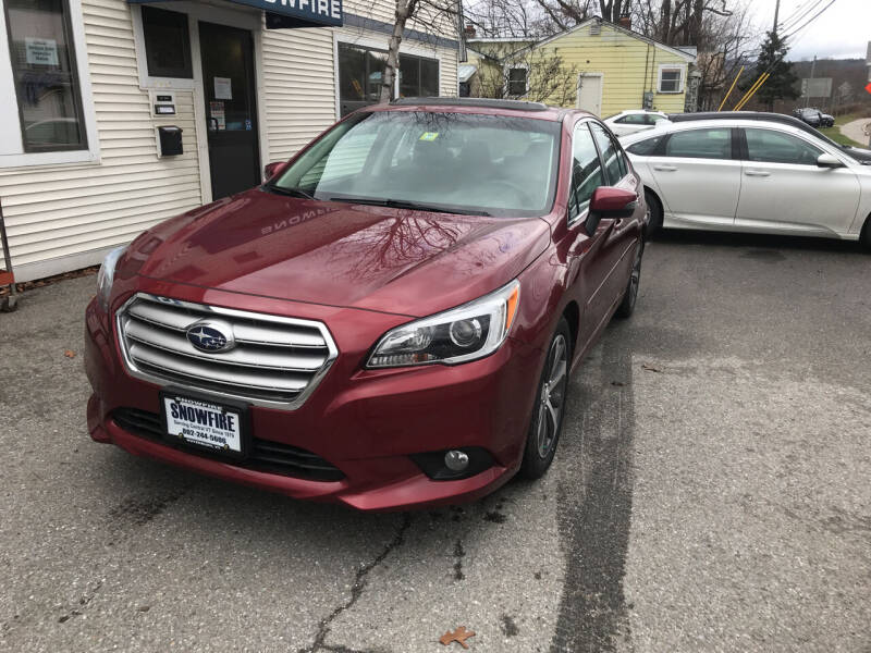 2017 Subaru Legacy for sale at Snowfire Auto in Waterbury VT