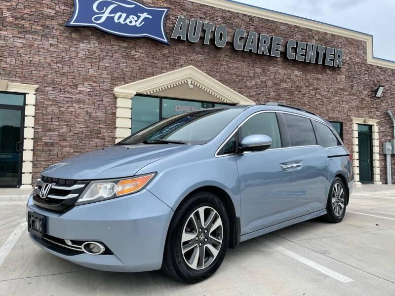 2014 Honda Odyssey for sale at Italy Auto Sales in Dallas TX